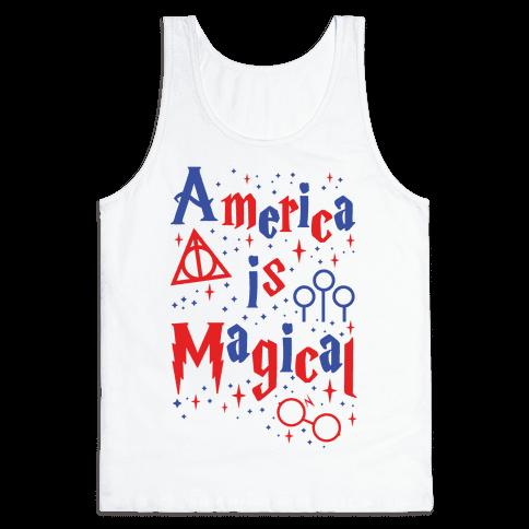 America Is Magical Tank Top