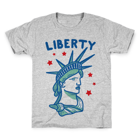 Liberty & Justice 1 Kids T-Shirt