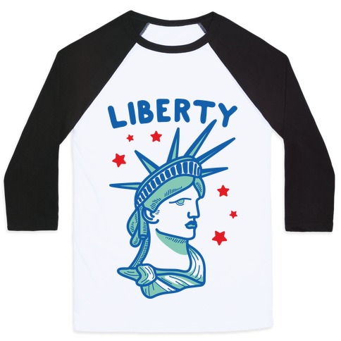 Liberty & Justice 1 Baseball Tee