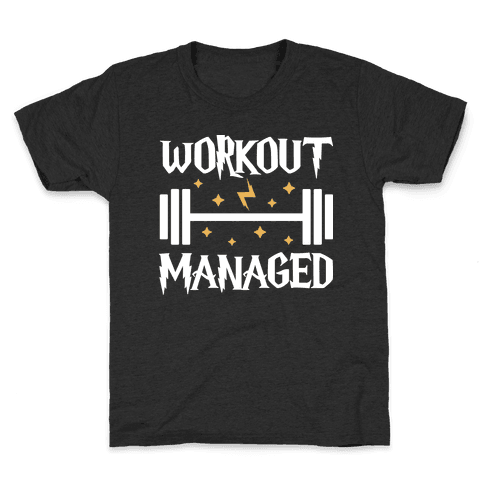 Workout Managed Kids T-Shirt