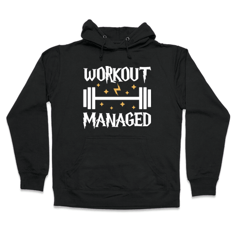 Workout Managed Hooded Sweatshirt