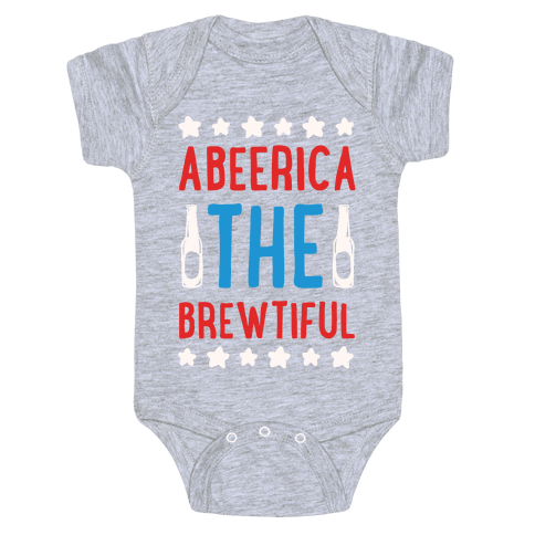 Abeerica The Brewtiful Baby Onesy
