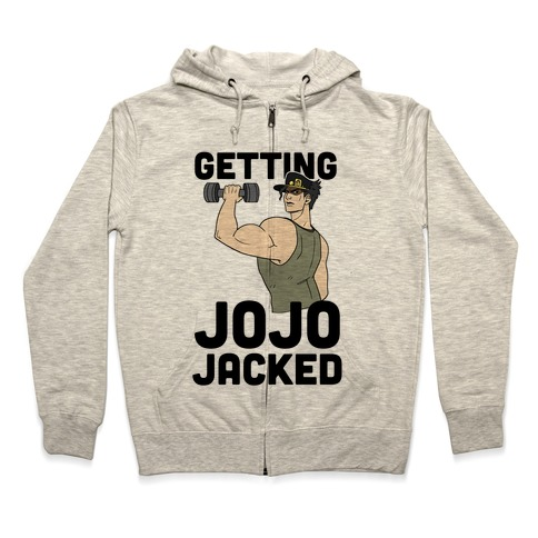 Getting Jojo-Jacked Zip Hoodie