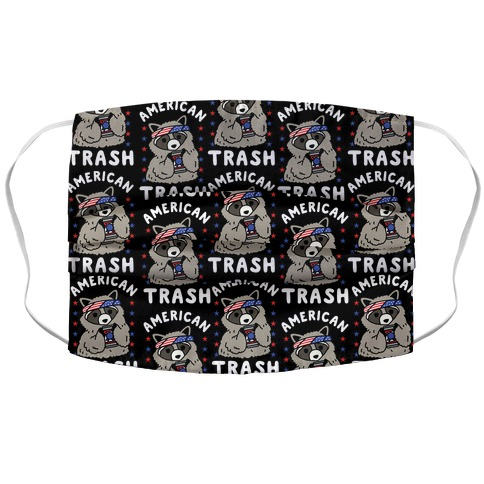 American Trash Face Mask