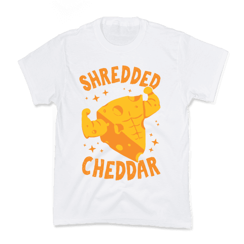 Shredded Cheddar Kids T-Shirt