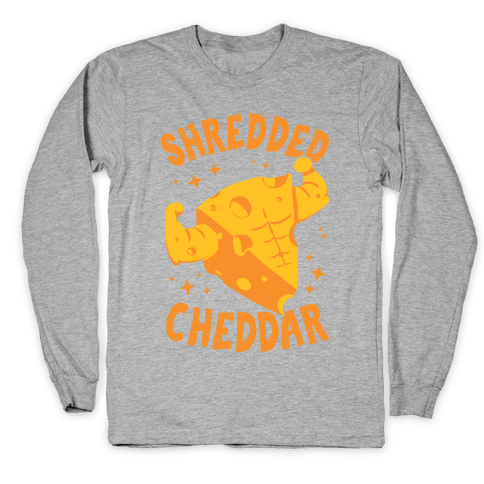 Shredded Cheddar Long Sleeve T-Shirt