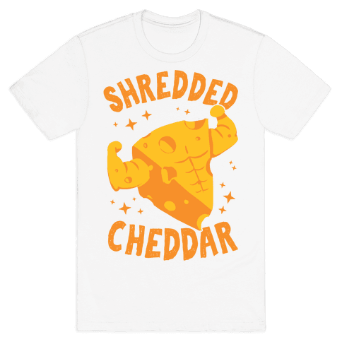 Shredded Cheddar Mens/Unisex T-Shirt