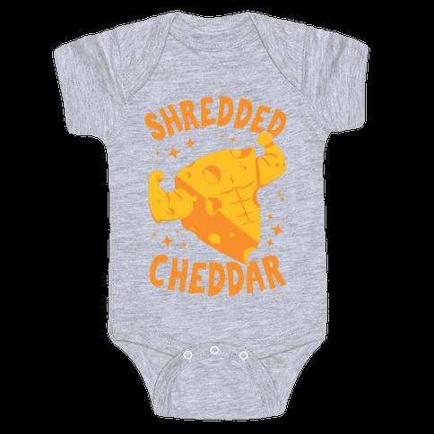 Shredded Cheddar Baby One-Piece