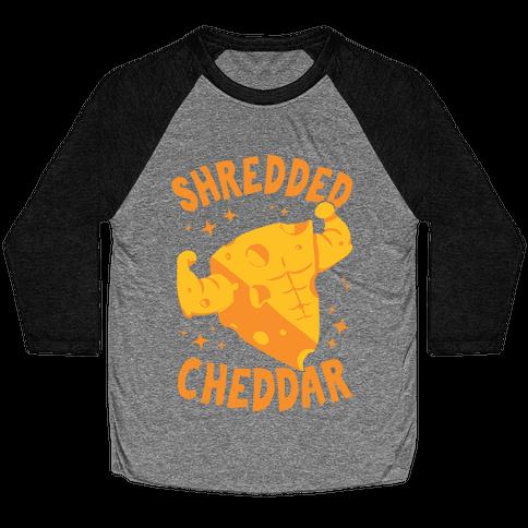 Shredded Cheddar Baseball Tee