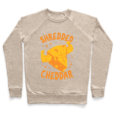 Shredded Cheddar Pullover