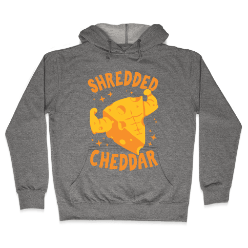 Shredded Cheddar Hooded Sweatshirt