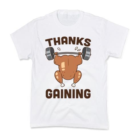 Thanksgaining Kids T-Shirt