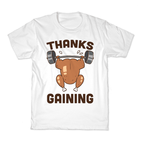 Thanksgaining Kids T-Shirt