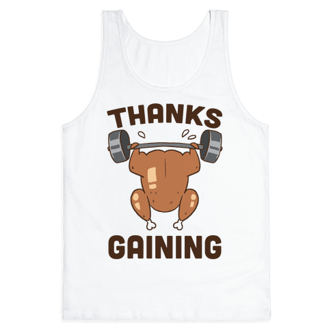 Thanksgaining Tank Top