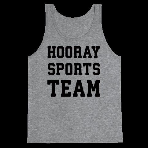 Hooray Sports Team Tank Top