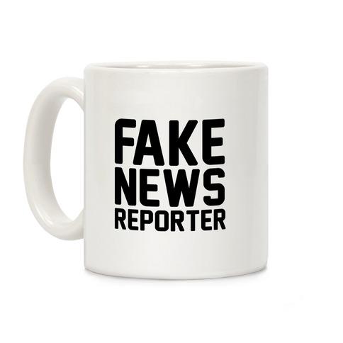 Fake News Reporter Coffee Mug