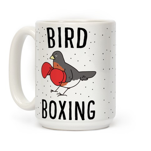 Bird Boxing Coffee Mug