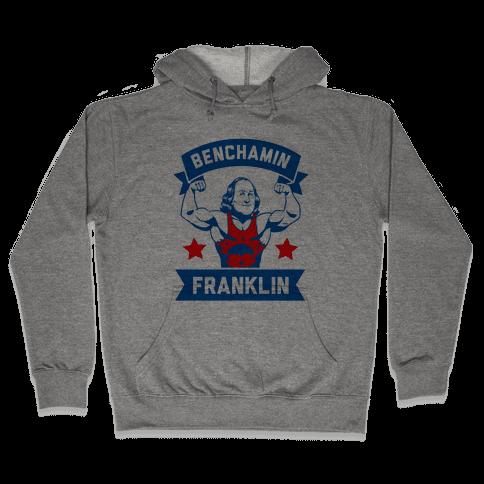 Benchamin Franklin Hooded Sweatshirt