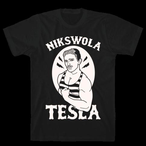 Nikswola Tesla Mens/Unisex T-Shirt