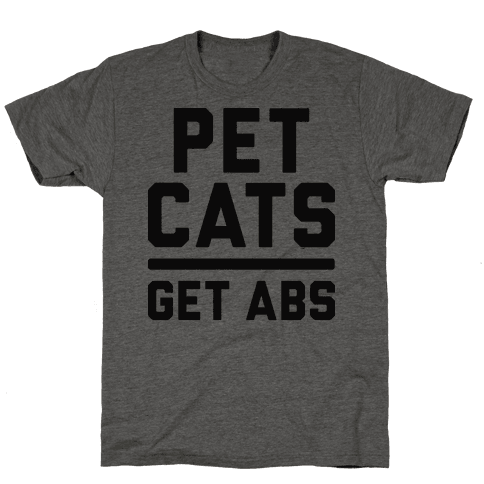 Pet Cats Get Abs
