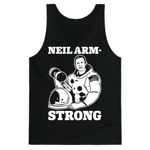 Neil Arm-Strong Lifting Tank Top