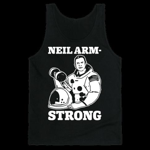 Neil Arm-Strong Lifting Tank Top