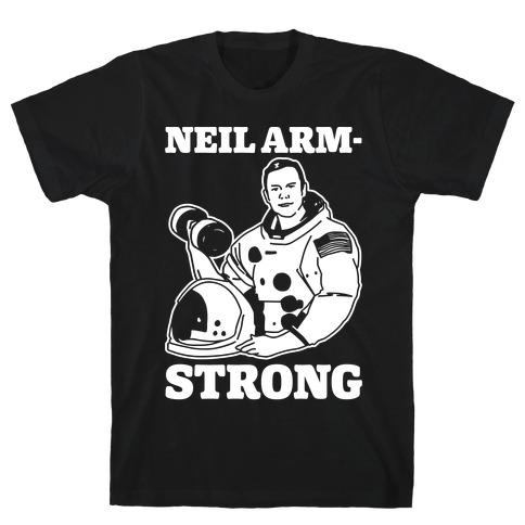 Neil Arm-Strong Lifting T-Shirt