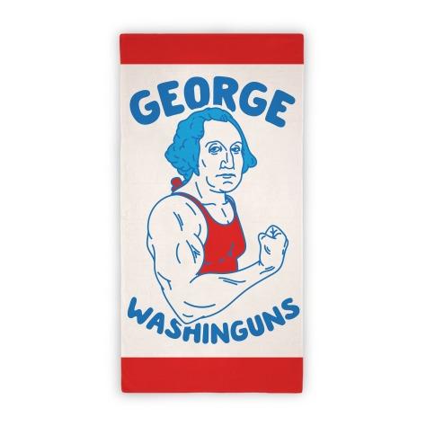 George Washinguns Beach Towel