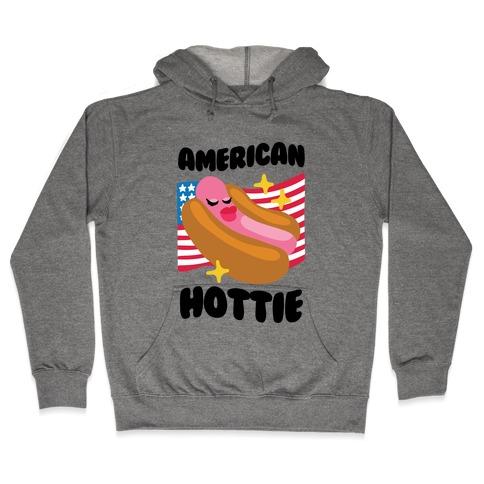 American Hottie (Hot Dog) Hooded Sweatshirt