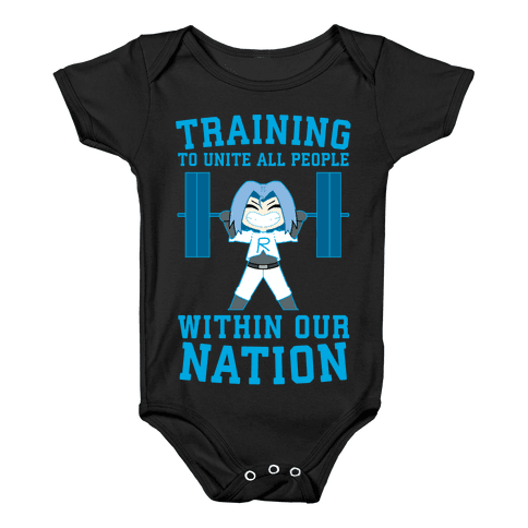Training To Unite All People Within Our Nation Baby Onesy