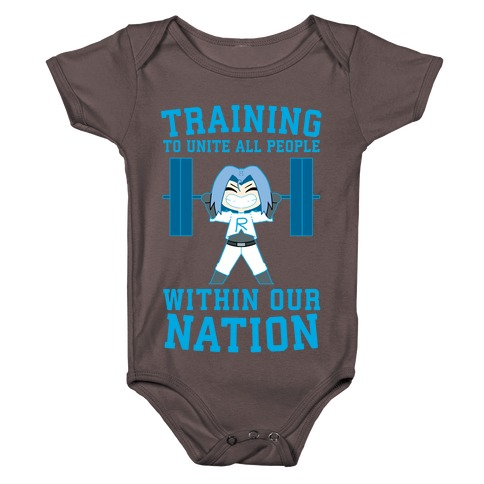 Training To Unite All People Within Our Nation Baby One-Piece