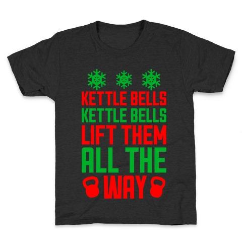 Kettle Bells, Kettle Bells Kids T-Shirt