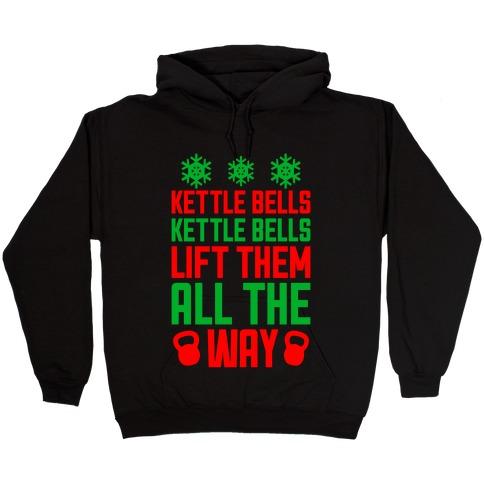 Kettle Bells, Kettle Bells Hooded Sweatshirt