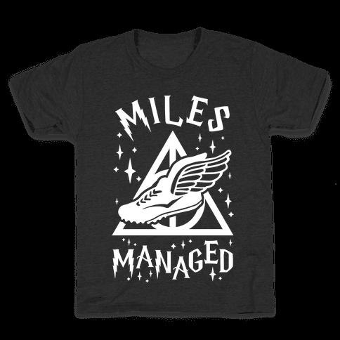 Miles Managed Kids T-Shirt