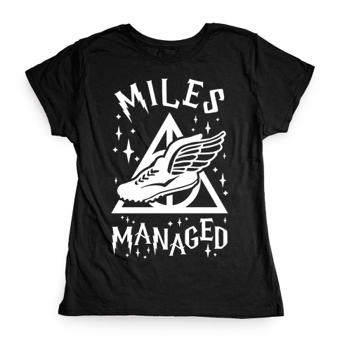 Miles Managed Womens T-Shirt