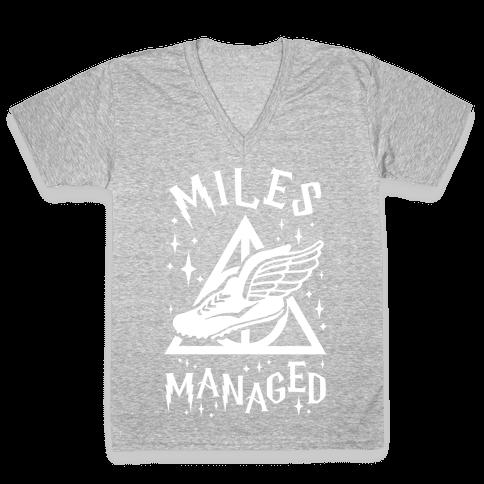 Miles Managed V-Neck Tee Shirt