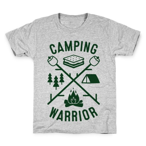 Camping Warrior Kids T-Shirt
