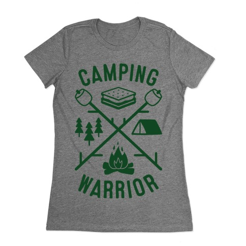 Camping Warrior Womens T-Shirt