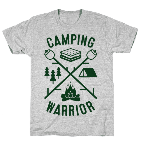 Camping T Shirts Merica Made