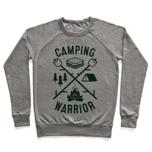 Camping Warrior Pullover