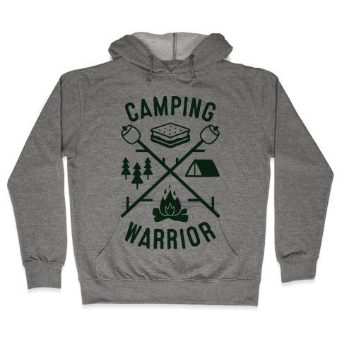 Camping Warrior Hooded Sweatshirt