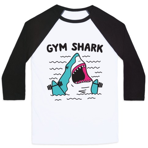 Gym Shark Baseball Tee