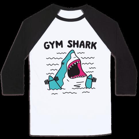 Gym Shark Baseball Tee