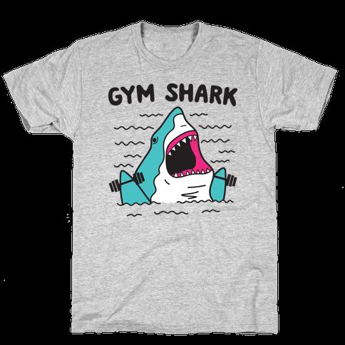 Gym Shark Mens/Unisex T-Shirt