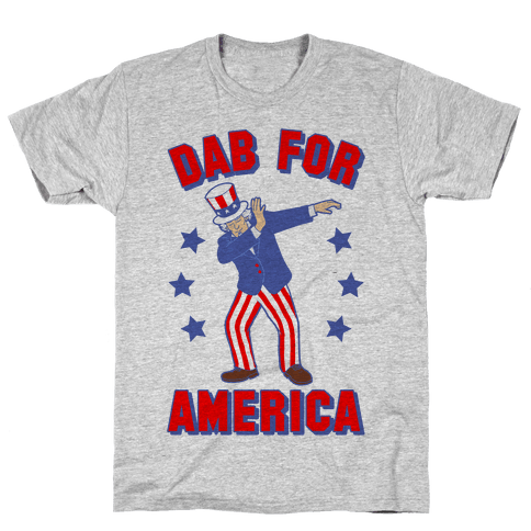 Dab For America Mens T-Shirt