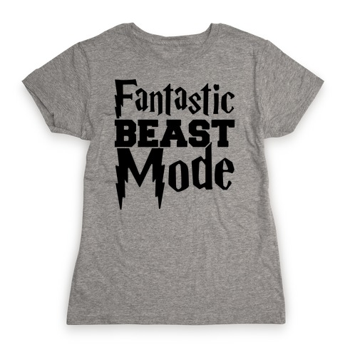 Fantastic Beast Mode Parody Womens T-Shirt