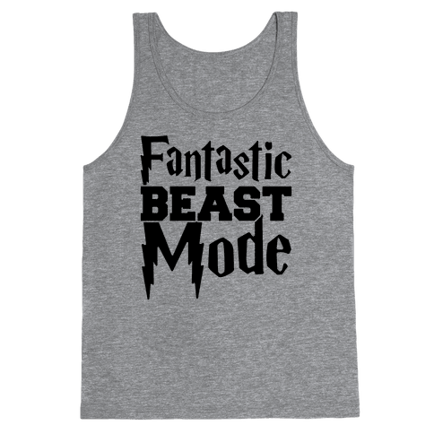 Fantastic Beast Mode Parody Tank Top