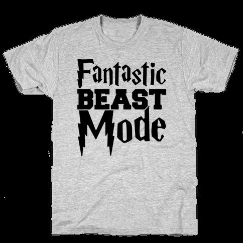 Fantastic Beast Mode Parody Mens T-Shirt