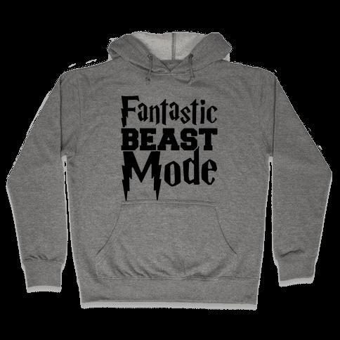 Fantastic Beast Mode Parody Hooded Sweatshirt