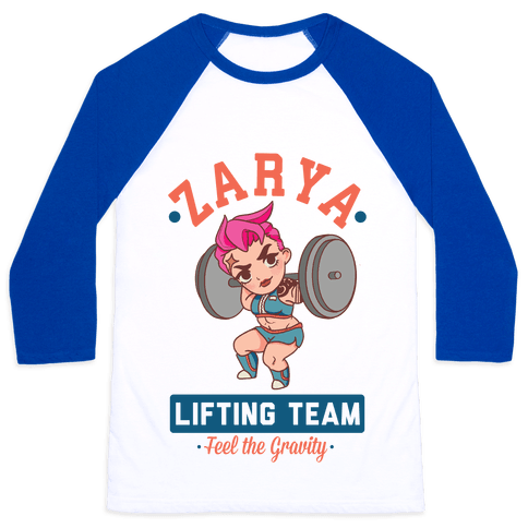 Zarya Lifting Team Baseball Tee